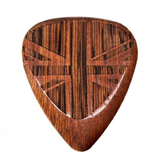 Flag Tones Union Jack Cobra Saffron 1 Guitar Pick